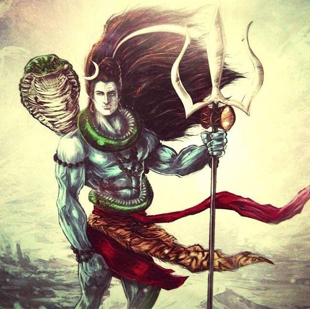 Animated Lord Shiva Pictures in HD