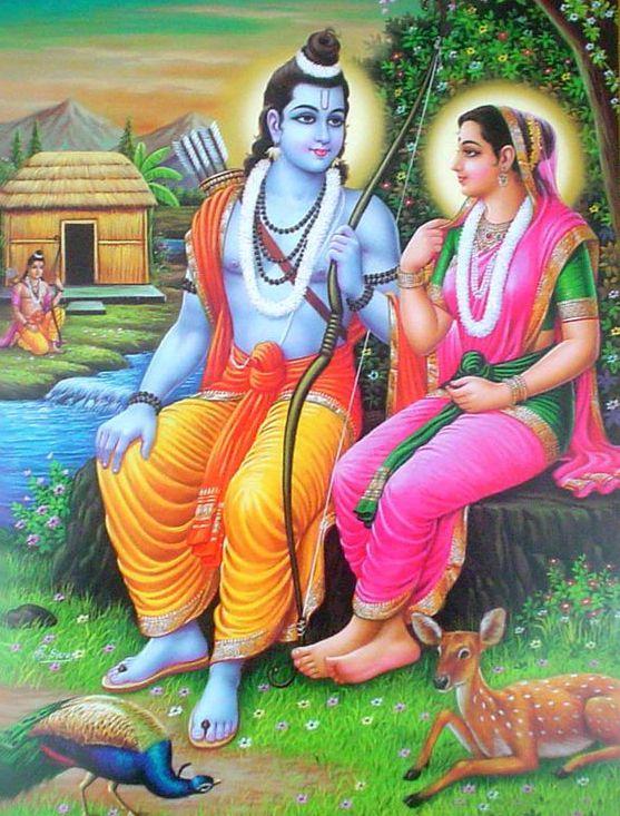 Beautiful HD Ram Sita Photos