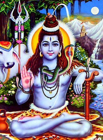 Bhagwan Shankar Painting