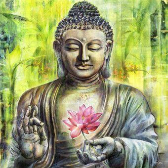 Buddha Peace Statue Image