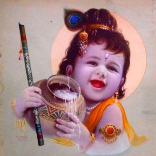 Child Krishna Images