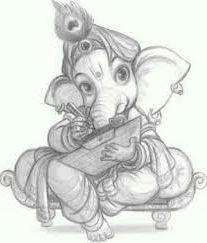 Cute Ganesha Pics