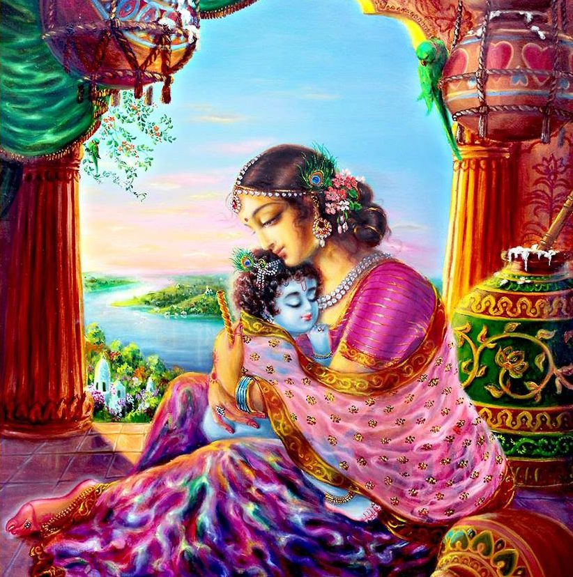 Cute Lord Krishna Pictures