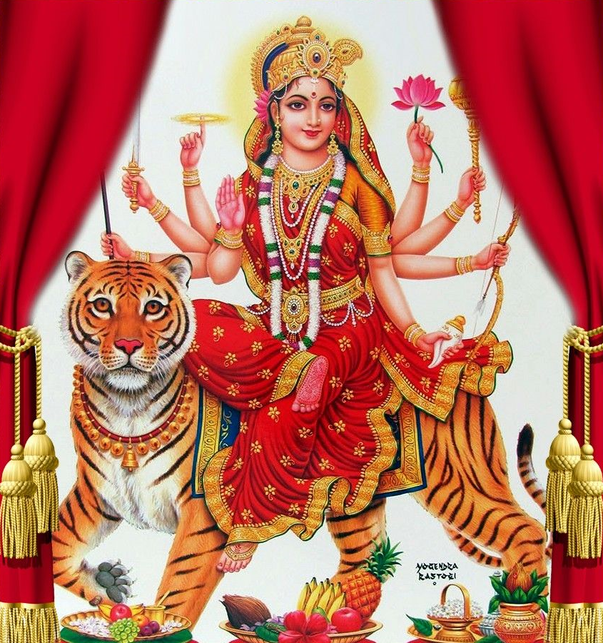 maa durga images hd wallpaper sherawali maa durga photos in hd