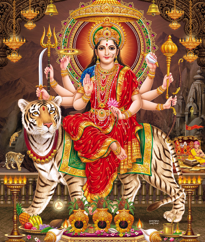 Durga Maa Ka Photo