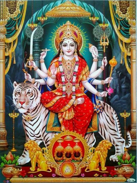 Durga Mata Rani Ki Photo