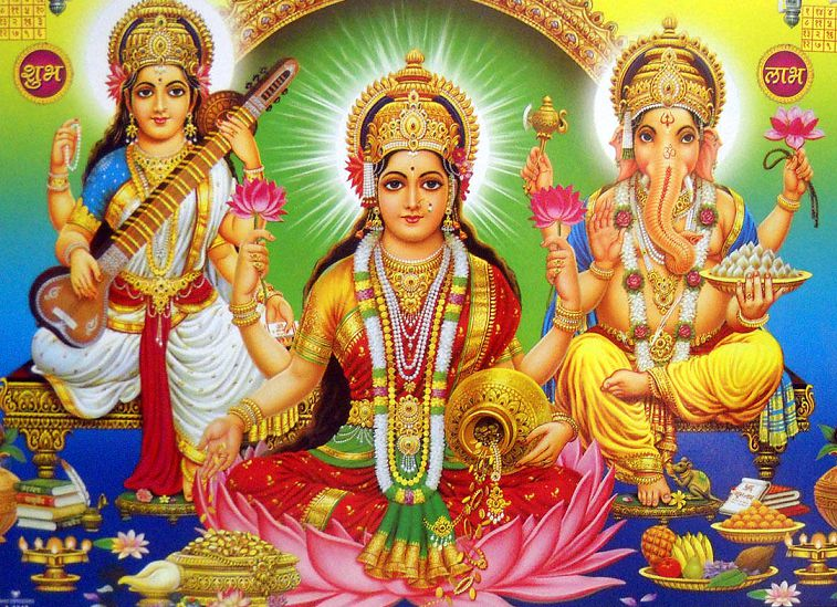 God Lakshmi Ji Wallpapers