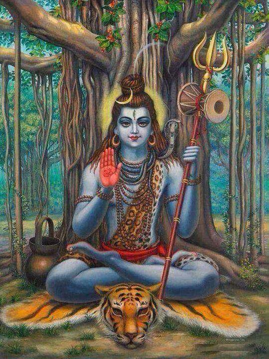 God Shiva Painting HD