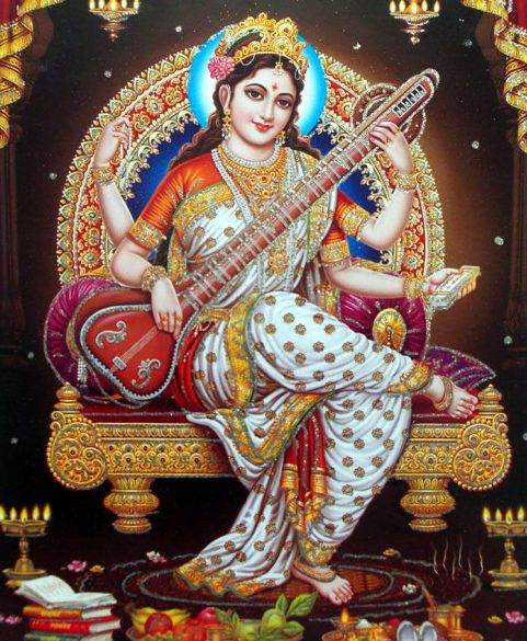 Goddess Saraswati Mata Photo