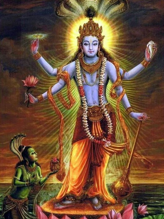 HD Picture of God Vishnu