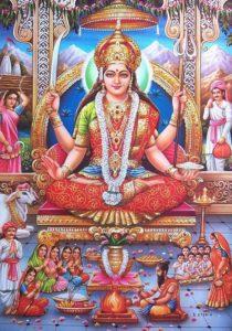 Santoshi Maa Images Wallpapers & Santoshi Mata Photo Gallery