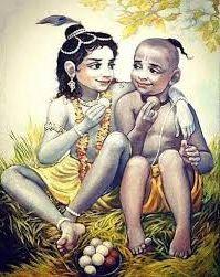Krishna Sudama Cute Photos