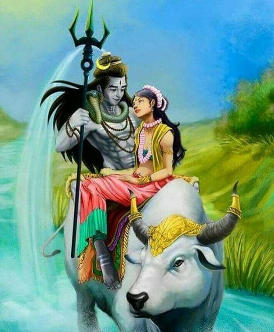 Lord Shiva Pictures with Maa Parwati