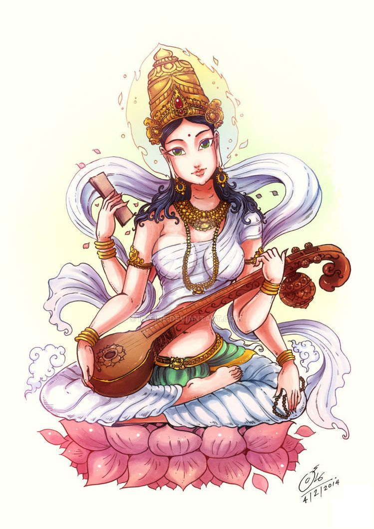 Maa Saraswati Photo Goddess
