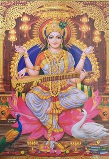 Maa Saraswati Photo Wallpapers