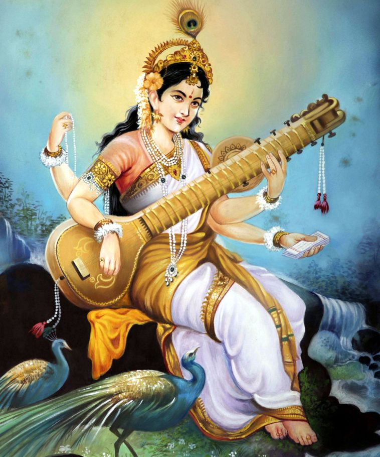 Maa Saraswati Picture in HD