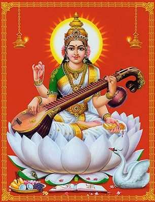 Maa Saraswati Wallpapers