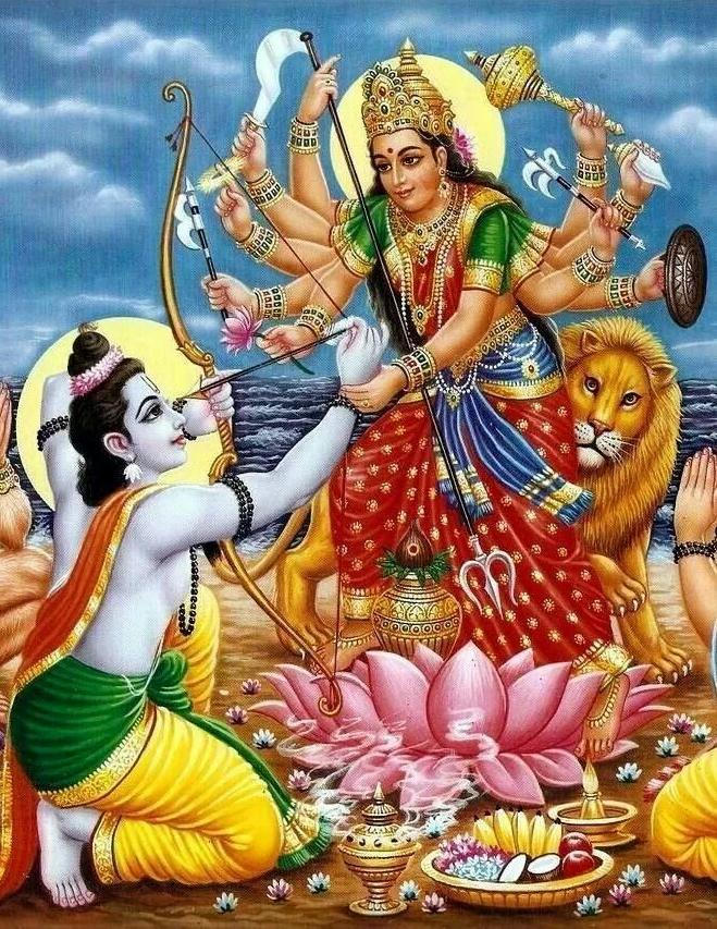 Maa Sherawali Goddess Images
