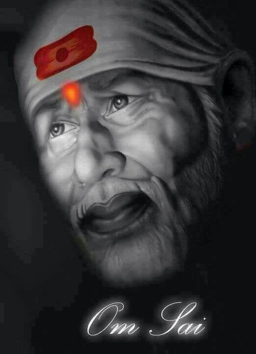 OM Sai Baba Bhagwan Image