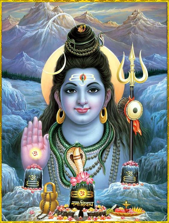 Om Nama Shiva God Images