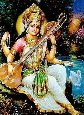 Photos of Goddess Saraswati