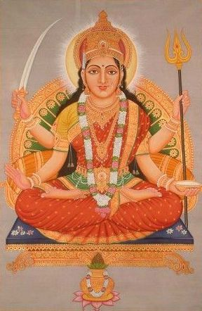 Santoshi Mata Wallpaper
