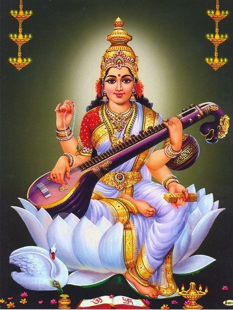 Saraswati Devi Wallpapers