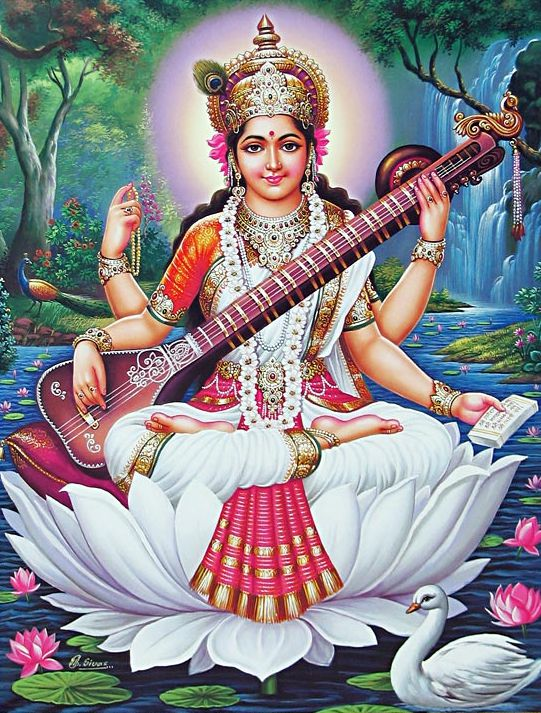 Saraswati Mata Wallpaper