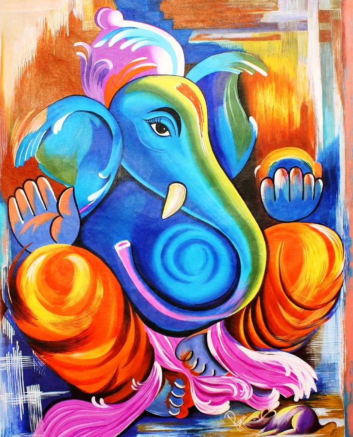 Sri Ganpati Painting