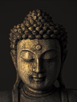 Buddha Sculpture face