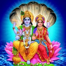 Vishanu Laxmi Ji Hindu God Pic Lord Vishnu Ji  IMAGES, GIF, ANIMATED GIF, WALLPAPER, STICKER FOR WHATSAPP & FACEBOOK