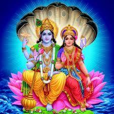 Vishanu Laxmi Ji Hindu God Pic Lord Vishnu Ji