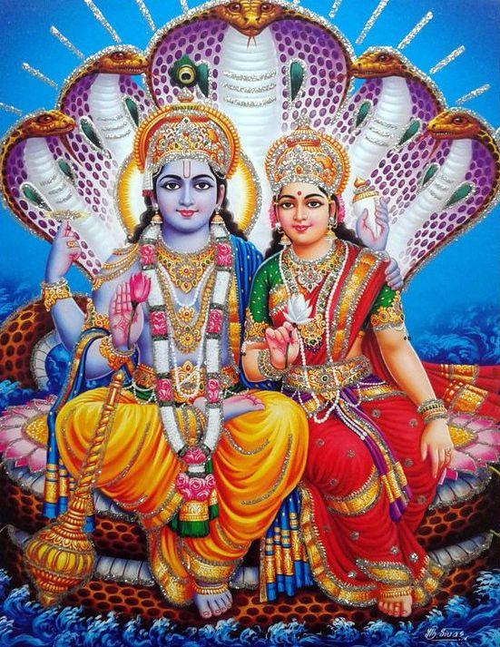 Vishnu God Wallpaper
