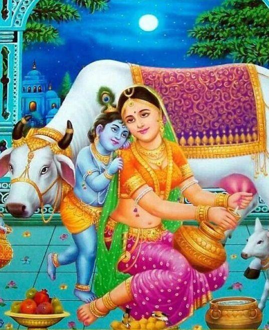 Laddu Bal Gopal Photo