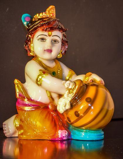 Laddu Gopal Statue Image