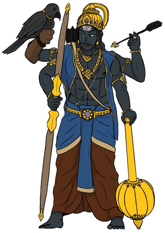 Lord Shani Dev Wallpapers