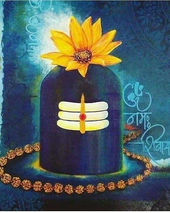 OM Namah Shivling Shivay  IMAGES, GIF, ANIMATED GIF, WALLPAPER, STICKER FOR WHATSAPP & FACEBOOK