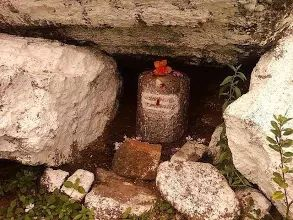 Shivling in Village Photo